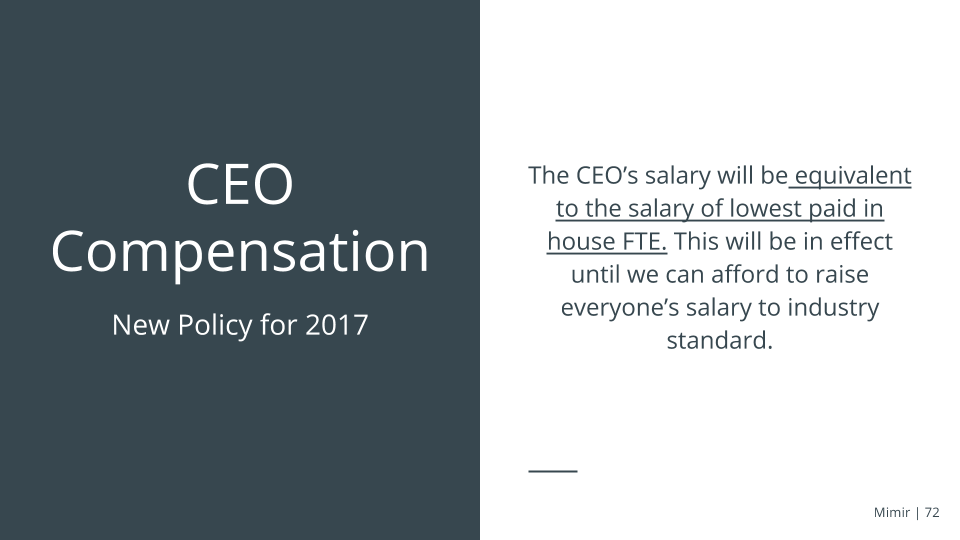 ceo compensation essay Executive compensation is a very important thing to consider when evaluating an investment opportunity executives who are improperly compensated may not have the incentive to.