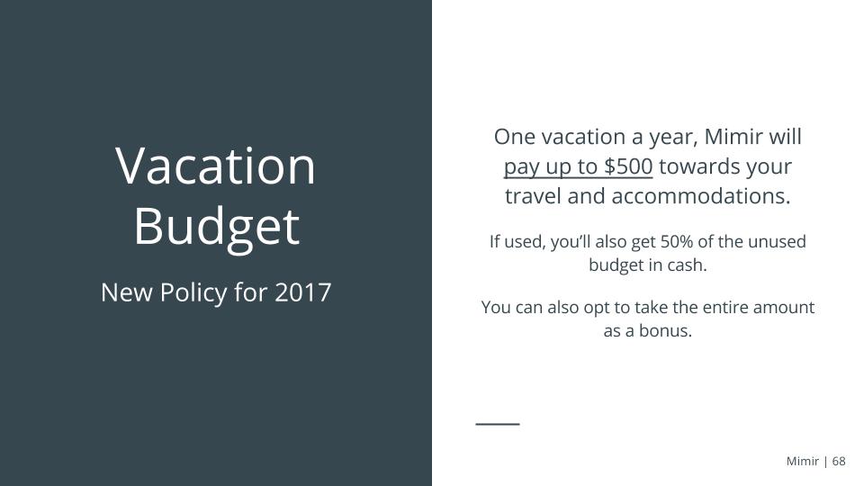 Mimir+VacationBudget