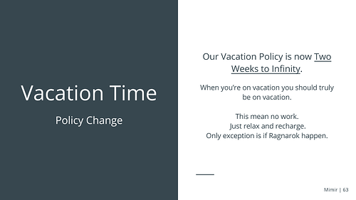 Mimir+VacationTime